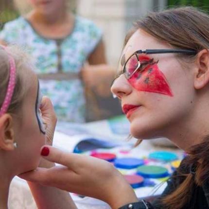 animator dla dzieci, face painting, animator dębica, animator krosno, malowanie twarzy na festyn