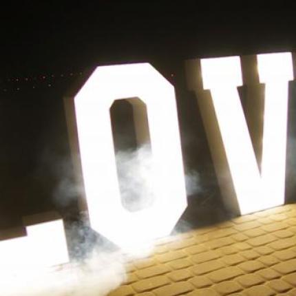 wynajem napisu LOVE na wesele