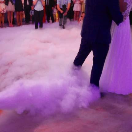 pierwszy taniec w chmurach - wytwornica ciężkiego dymu na pierwszy taniec
