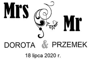 Dorota i Przemek Fotobudka Gloria Przemyśl