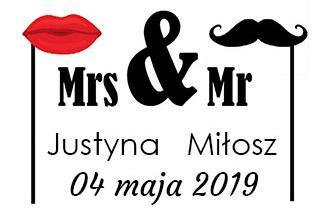 Justyna i Miłosz fotobudka Przeworsk