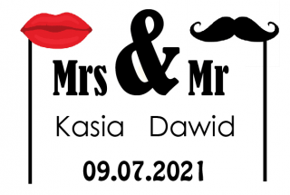 Kasia i Dawid Fotobudka Leżajsk