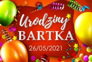 fotobudka na urodzinach Bartka w Targowiskach koło Krosna