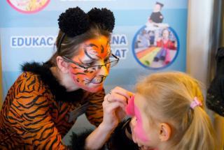 malowanie twarzy dzieciom na imprezach, atrakcje na imprezy