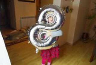 hel Jarosław, balonowe cyfry z helem, napełnienie balonów helem jarosław